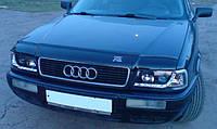 Дефлектор капота (мухобойка) Audi 80 B4 1991-1995, Vip Tuning, AD04