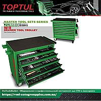 Тележка с инструментом для СТО, автосервиса 8 секций 360 ед. ударопрочной тележке  JUMBO  TOPTUL GT-36001