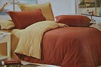 """Однотонное постельное белье Евро размера """"East Comfort"""""""