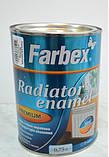Емаль для радіаторів опалення, TM farbex белая, фото 2