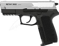 Пистолет стартовый Retay 2022. Цвет - chrome., фото 1