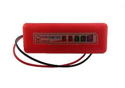 Індикатор зарядки дитячого електромобіля Bambi 12В