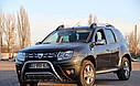 Кенгурятник двойной (защита переднего бампера) Renault Duster 2010-2018, фото 2
