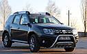 Кенгурятник двойной (защита переднего бампера) Renault Duster 2010-2018, фото 3