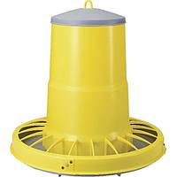 Кормушка бункерная пластиковая для домашней птицы на 22 л