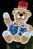 """3D светодиодная фигура """"Медведь"""" 300X260cm"""