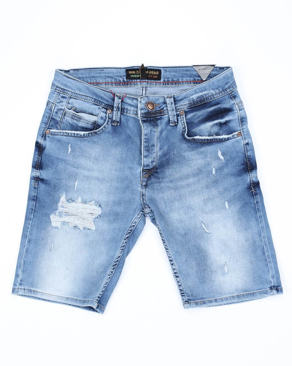 Шорты джинс MARIO рваные 29(Р) 0128