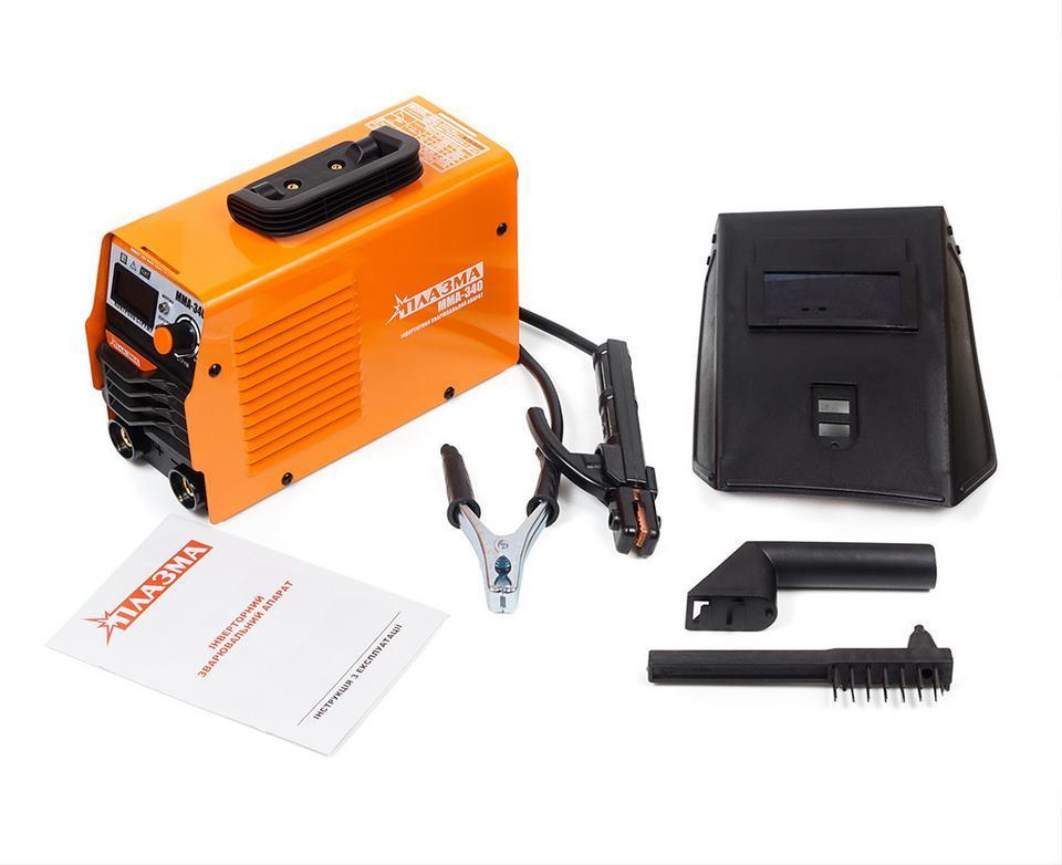 Сварочный инвертор Плазма Turbo ММА-340 (LCD-дисплей)