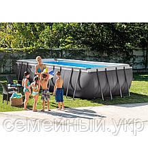 Каркасный бассейн Intex.Объем воды: 17203л. Трехслойный ПВХ. Оцинкованные стальные трубы. ДхШхВ:549х274х132 см, фото 3