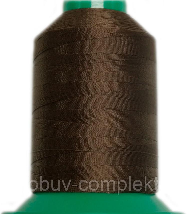 Нить Титан №20 2000 м. Польша цвет (2605) коричнева.