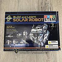 Конструктор робот трансформер на солнечных батареях Космический Флот 7 в 1 Solar Robot space fleet