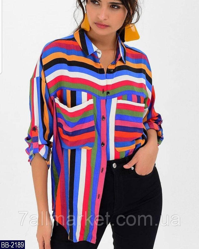 """Рубашка женская полубатальная модель 0011 (52, 54, 56) """"KAPIHA"""" недорого от прямого поставщика"""