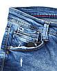 Шорты джинс MARIO MOSCHINO рваные 30(Р) 0159, фото 3