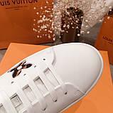 Кеды, кроссовки Луи Витон кожаная реплика, фото 2
