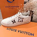 Кеды, кроссовки Луи Витон кожаная реплика, фото 4