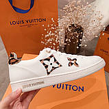 Кеды, кроссовки Луи Витон кожаная реплика, фото 7
