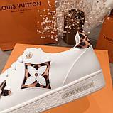 Кеды, кроссовки Луи Витон кожаная реплика, фото 6