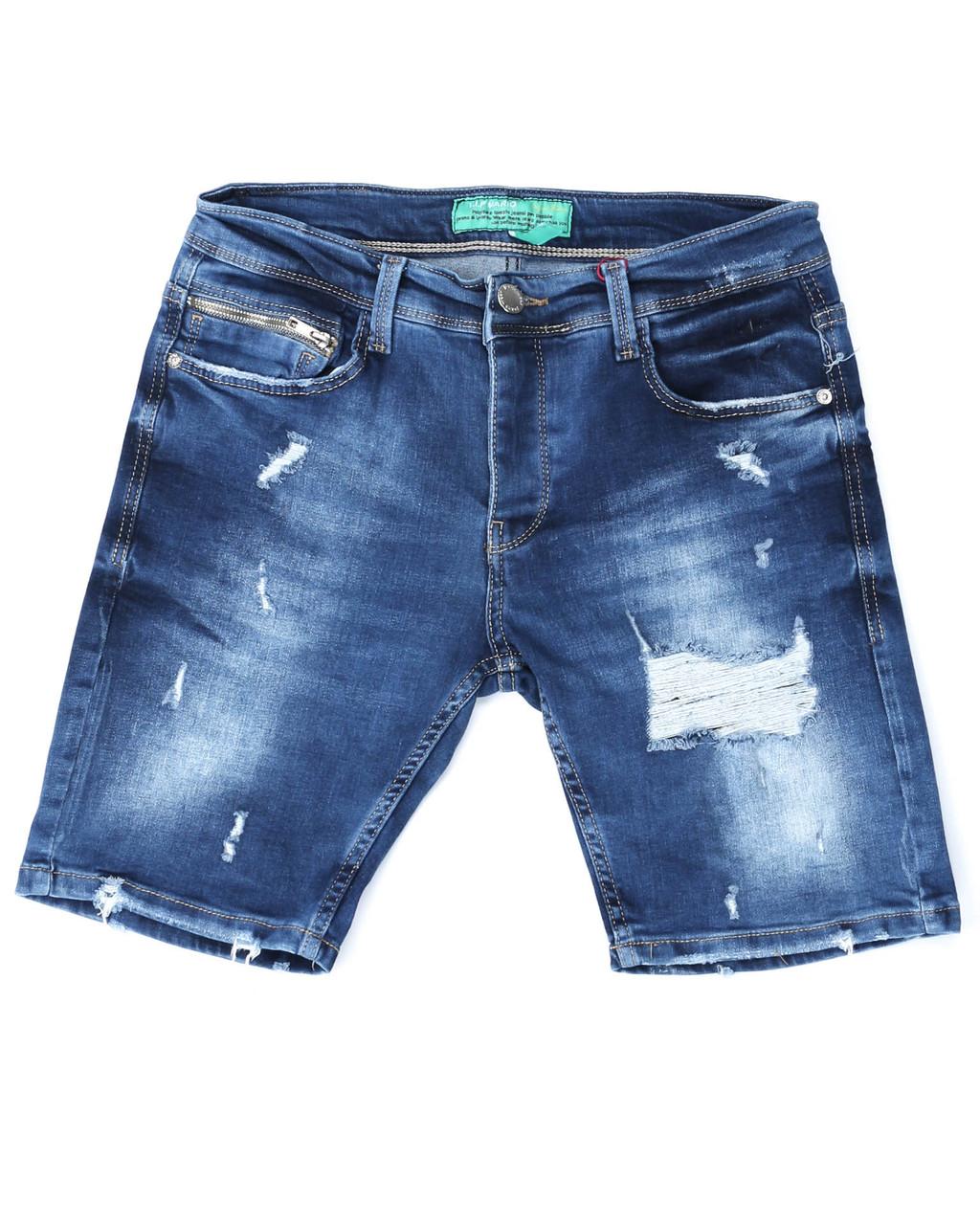 Шорты джинс MARIO рваные 29(Р) 0168