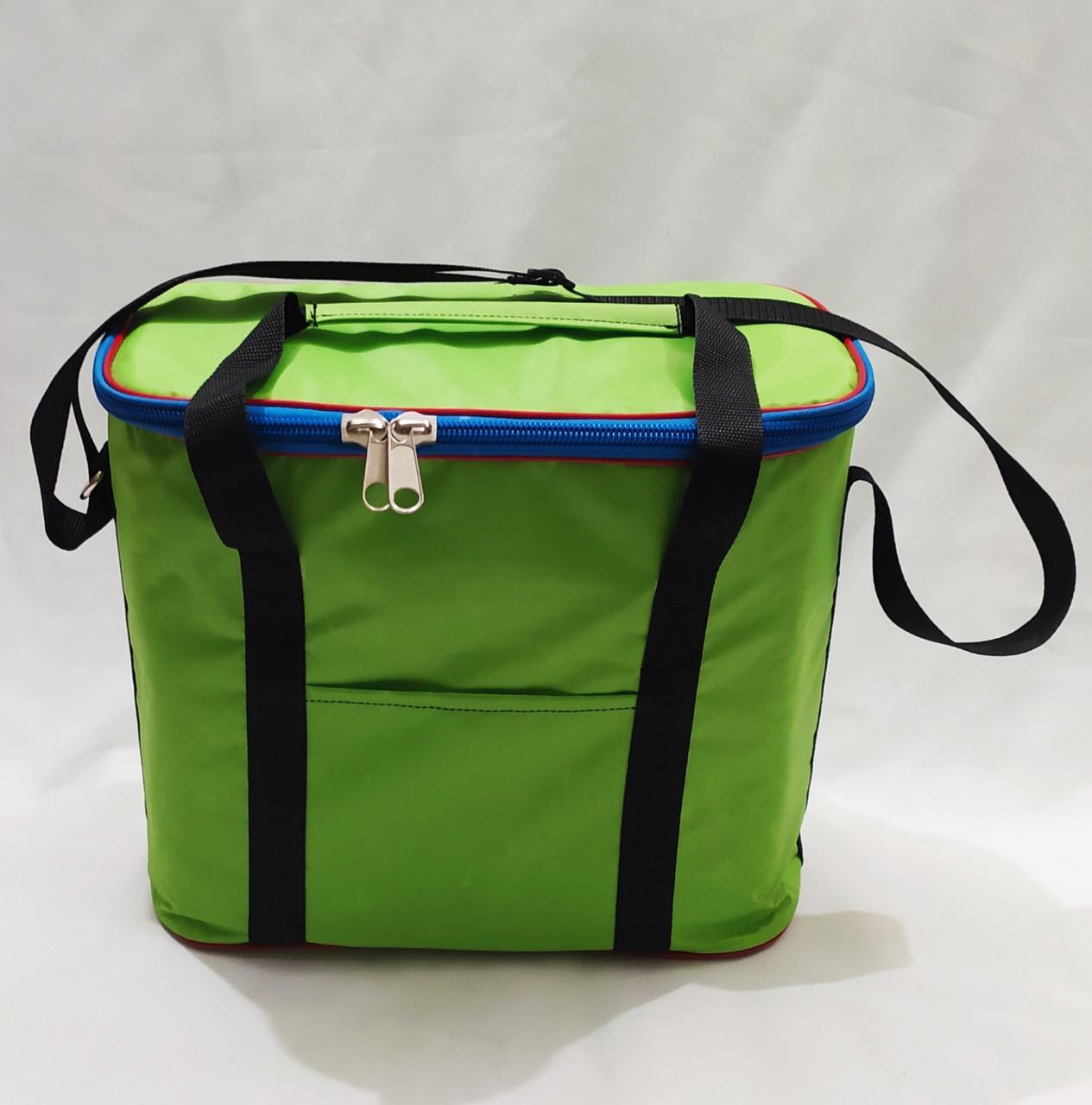Сумка холодильник (термо сумка) 18 литров зеленая Fishmaster