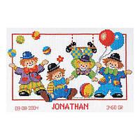 Набор для вышивания Клоуны Вервако 2002/70674