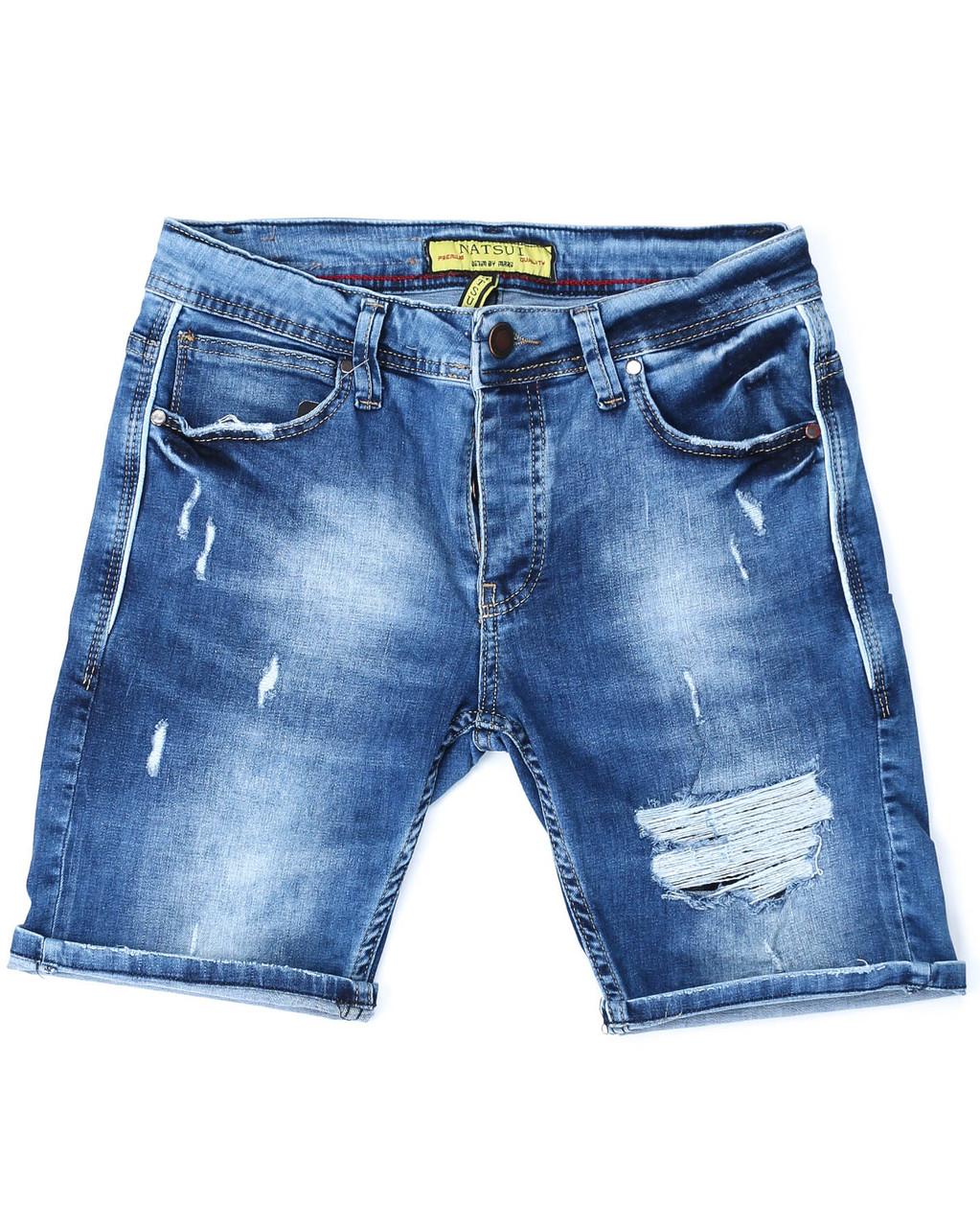 Шорты джинс MARIO рваные 29(Р) 0124