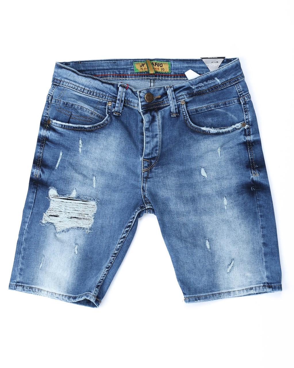 Шорты джинс MARIO рваные 29(Р) 0125
