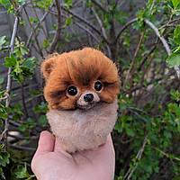 Шпиц померанский - игрушка из шерсти, фото 1