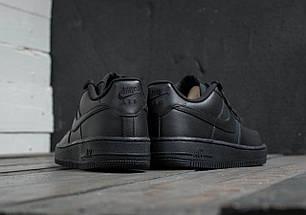 Мужские кроссовки Nike Air Force 1 Low Black, фото 3