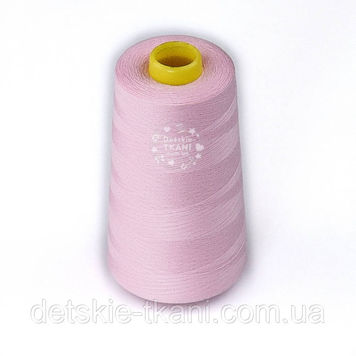 Нитки швейные 40/2, 4000 ярдов, цвет светло-розовый (151)