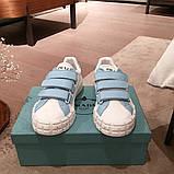 Шкіряні кеди, кросівки Прада Leather Sneakers, фото 4