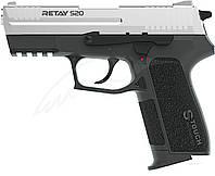 Пистолет стартовый Retay S20. Цвет - chrome., фото 1