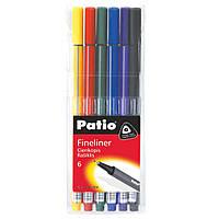 """Набор разноцветных линеров """"TRIO"""" 6 штук, Patio"""