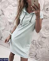 """Сукня жіноча полубатальное з капюшоном (50-52, 52-54, 54-56) """"MILANI"""" недорого від прямого постачальника"""