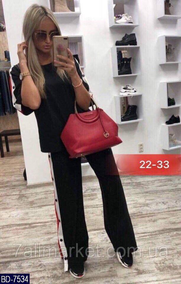 """Спортивний костюм жіночий модний мод.356 (42-44, 46-48) """"MILANI"""" недорого від прямого постачальника"""