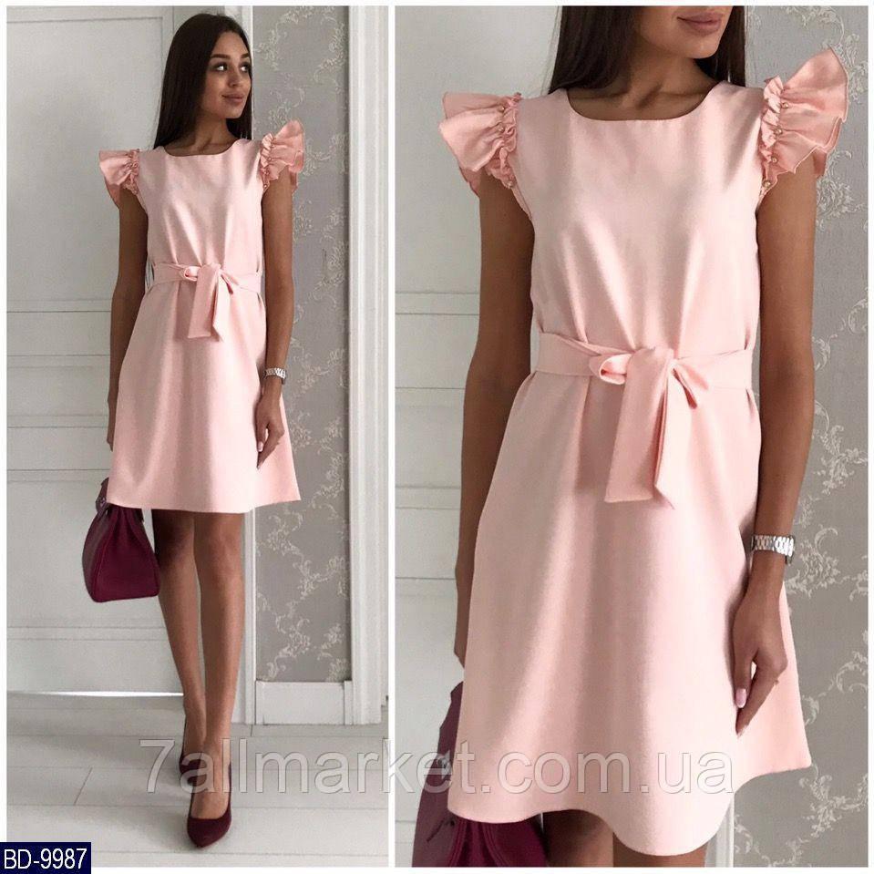 """Сукня жіноча з намистинами мод. 359 (42-44, 44-46, 46-48) """"MILANI"""" недорого від прямого постачальника"""