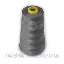 Нитки швейні 40/2, 4000 ярдів, колір темно-сірий (336)