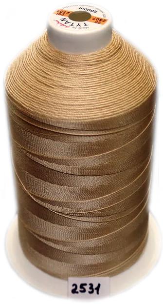 Нить №60 (1000 м.) «Титан» колір 2531 бежевий