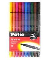 """Набор разноцветных линеров """"TRIO"""" 10 штук, Patio"""