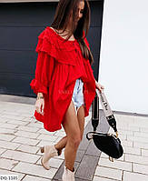 """Туніка жіноча вільна мод. 412 (42-52) """"MILANI"""" недорого від прямого постачальника, фото 1"""