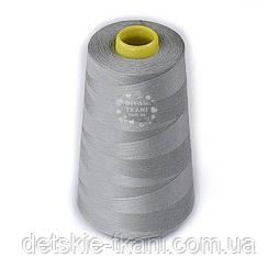 Нитки швейные 40/2, 4000 ярдов, цвет светло-серый (367)