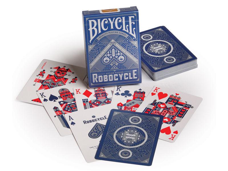 Карты игральные | Bicycle Robocycle