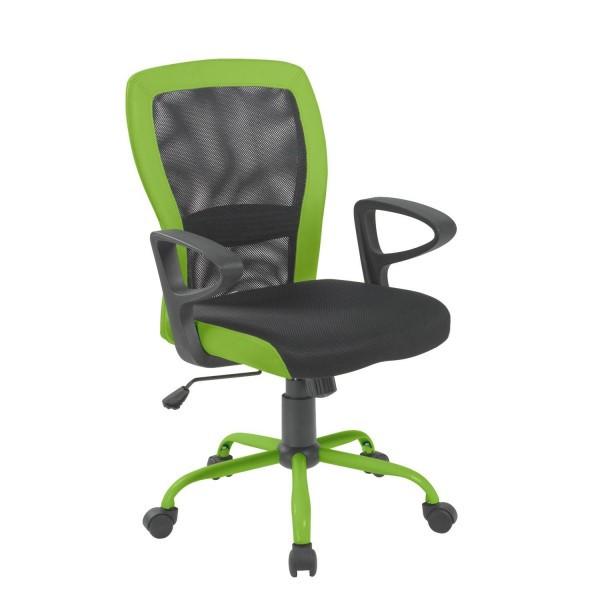 Крісло офісне Office4You JOY black-green (14502)