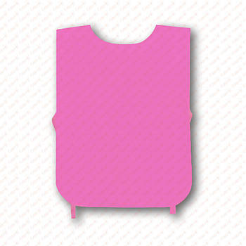 Рекламна маніжка колір РОЖЕВИЙ (рекламний жилет, промо накидка, маніжка промоутера)
