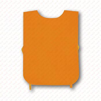 Рекламная манижка цвет ОРАНЖЕВЫЙ (рекламный жилет, промо накидка, манижка промоутера)