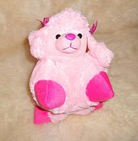 """Подушка-игрушка """"розовый пудель"""", фото 1"""