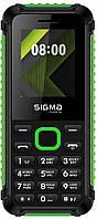Мобильный телефон Sigma mobile X-style 18 Track Dual Sim Black/Green Гарантия 12 мес.