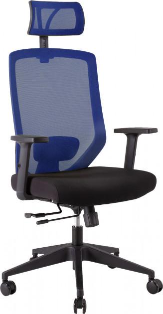 Крісло офісне Office4You JOY black-blue (14504)