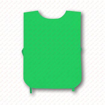 Рекламна манижка колір САЛАТОВИЙ (рекламний жилет, промо накидка, манижка промоутера)