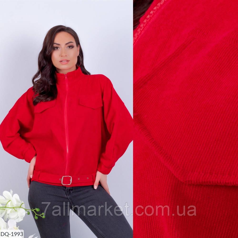 """Куртка женская вельветовая мод 056 (48-52) """"ALENA"""" недорого от прямого поставщика"""