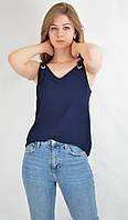 Майка женская блузочный стиль бретели на завязках   KOTON Турция 33545
